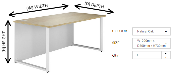 Merveilleux Office Desk Measurements Explained