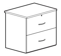 Filing cabinet dimensions