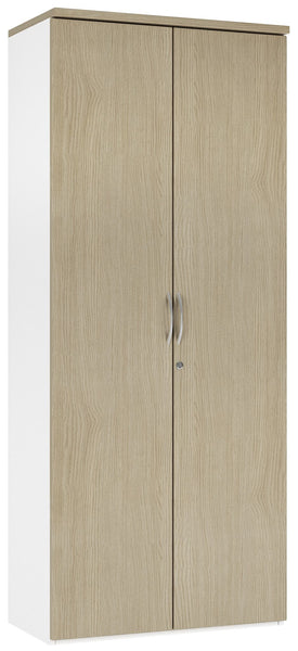 B2 Workology Large Cupboard  (2 colours) H1900mm / Natural Oak / Next Working Day — Kit Out My Office - 1