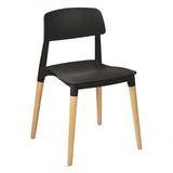 Lancaster Side Chair with Wooden Leg