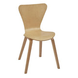 Ealing Side Chair with Wooden Frame