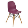 Harrow Side Chair with Wooden Leg