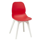 Harrow Side Chair with White Polypropylene Leg
