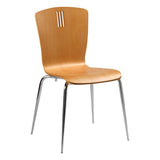 Holborn Dining Chair with Chrome Leg