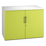 Green Kaleidoscope KOMO Desk High Cupboard