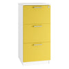 HD Filing Cabinet Drawers (3 sizes + 6 colours) H1025mm | 3 Drawer / Yellow / Next Working Day — Kit Out My Office - 12
