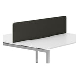 R8 Lite Economy Desk Screen with Silver Trim