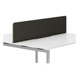 R8 Lite Economy Desk Screen with White Trim