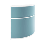 Kaleidoscope Curved Reception Desk Corner Unit