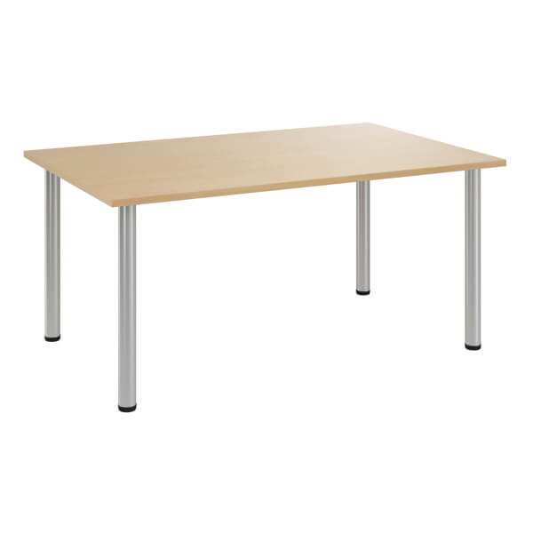 Superb Sylvan Komo Rectangular Meeting Table With Bench Legs Ibusinesslaw Wood Chair Design Ideas Ibusinesslaworg
