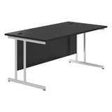 KOMO Value Rectangular Desk with Cantilever Legs