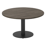 Vanta Circular Coffee Table with Column Base Leg