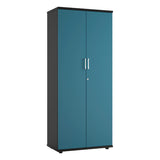 Blue KOMO Value Tall Cupboard - Next Day