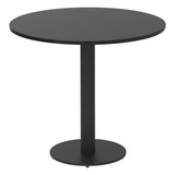Vanta Circular Dining Table with Column Base Leg