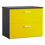 Yellow KOMO Value Desk High Side Filing Cabinet - Next Day