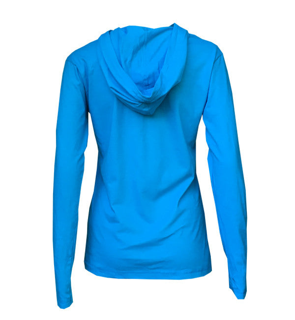 light hoodie- shadow | blue