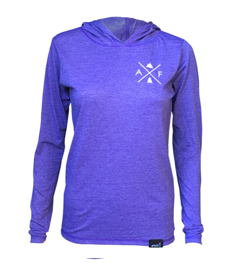 light hoodie -alpine | purple