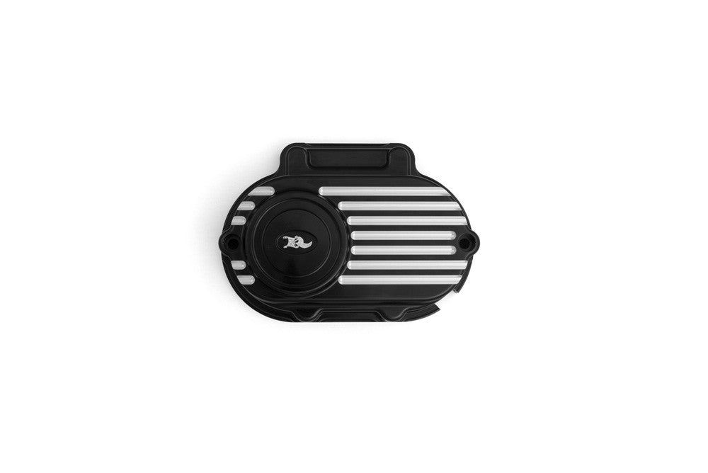 Hydraulic Clutch Cover Shell, Black Machine, Milwaukee-Eight