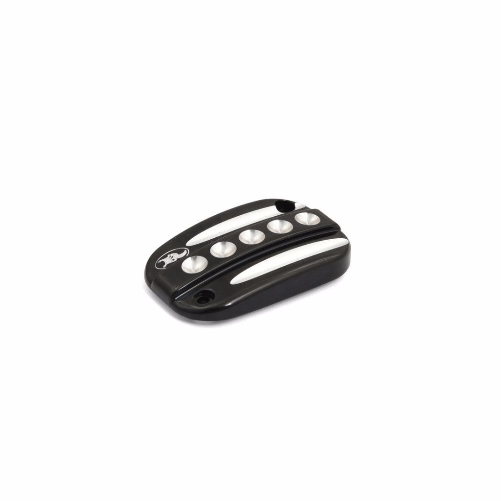 Neo Fusion Front Brake Master Cylinder Cover, Black