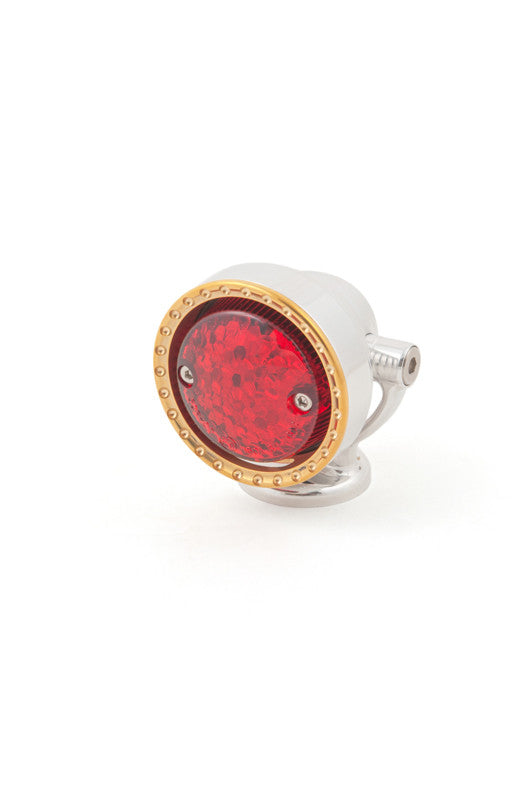 Neo-Fusion Taillight, Polished w/Brass Ring