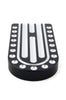 Large Brake Pedal, Black Machine, 86 up