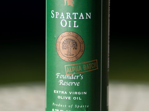 Spartan Oil Founder's Reserve Alpha Batch