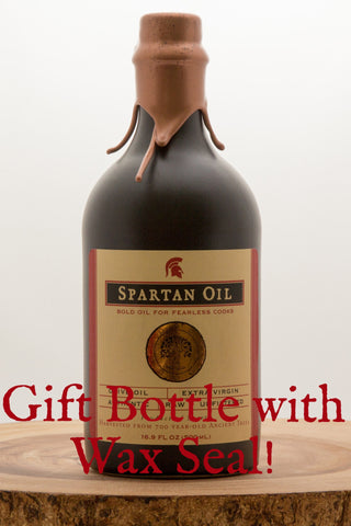 Spartan Oil Premium Quality Extra Virgin Olive Oil in a Gift Package