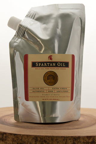 Spartan Oil Premium Quality Extra Virgin Olive Oil Refill Pouch