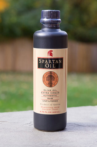 Spartan Oil Organic Extra Virgin Olive Oil - Stoneware bottle