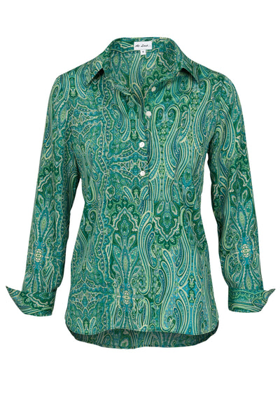 Summer Green Paisley