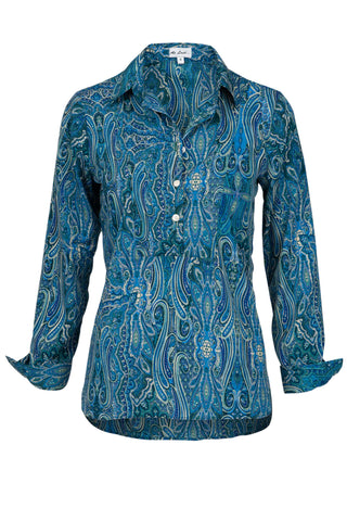 Summer Blue Paisley