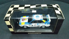 Minichamps 1/43 Audi Quattro Swedish Rally 1982 Winners: Blomquist / Cederberg