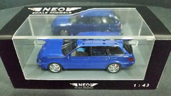 Neo Scale Models 1/43 Audi RS2 Avant Blue