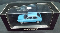 Minichamps 1/43 Audi 50 1975 Blue
