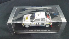 Spark 1/43 Peugeot 205 T16 #10 Monte Carlo Rally 1986