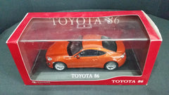 Toyota 1/30 Toyota 86 Orange GT86 FR-S