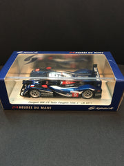 Spark 1/43 Peugeot 908 no.9 Team Peugeot Total 2nd LM 2011