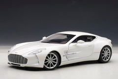 Autoart 1/18 Aston Martin One-77 (Morning Frost)