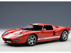 Autoart 1/18 Ford GT 2004 (Red / With White Stripe)