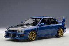 Autoart 1/18 Subaru Impreza 22B (Blue / Carbon Fiber Bonnet) Upgraded Version