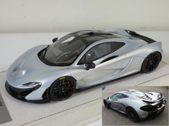 Tecnomodel 1/18 Mclaren P1 2013 Ace Silver with Black Rims