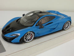Tecnomodel 1/18 Mclaren P1 2013 Baby Blue with Silver Rims