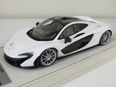 Tecnomodel 1/18 Mclaren P1 2013 Gloss White with Silver Rims