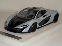 Tecnomodel 1/18 Mclaren P1 2013 Ace Silver with Black Bonnet & Rims