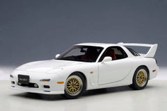 Autoart 1/18 Mazda RX-7 (FD) Tuned Version (Pure White)