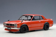 Autoart 1/18 Nissan Skyline GT-R (KPGC10) Tuned Version (Red)