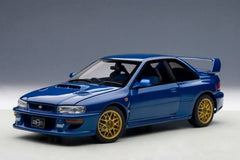 Autoart 1/18 Subaru Impreza 22B (Blue) Upgraded Version