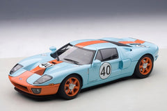 Autoart 1/18 Ford GT 2004 (Blue / Orange Paint Scheme)