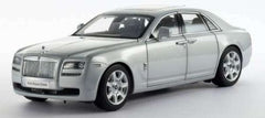 Kyosho 1/18 Rolls Royce Ghost (Silver with Black Interior)