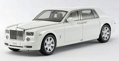 Kyosho 1/18 Rolls Royce Phantom (English White)
